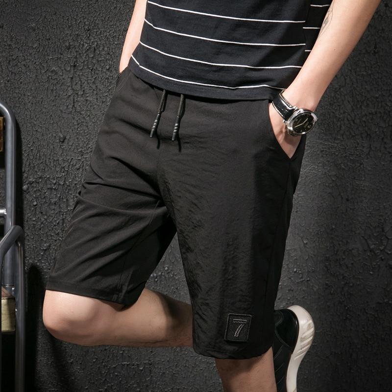 Mâle Hommes Noir Shorts S10 Occasionnels Coréen Plage D'été De Marée qHIwpp