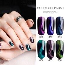Cat Eye Gel Polish Magnetic Professional Nail Art Glitter Varnish Vernis Semi Permanant UV LED Lakiery Hybrydowe 8ml