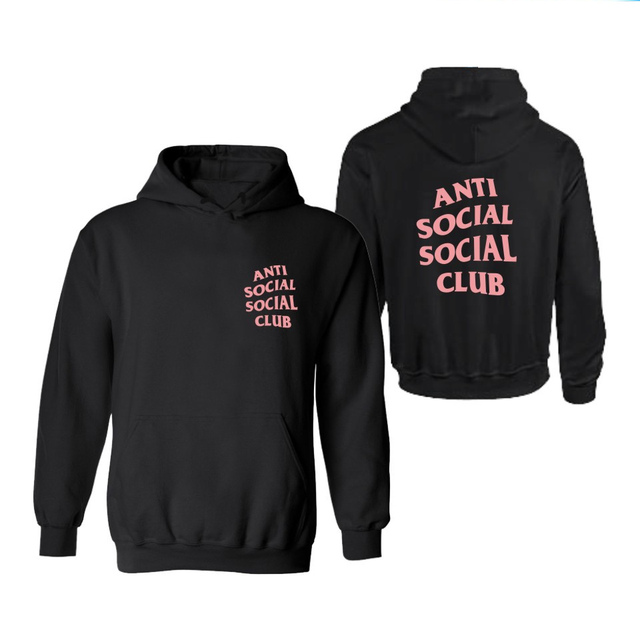 20 color!Autumn men women Anti Social Social Club Hoodies kanye west Hoodie Hip Hop Sweatshirt anti social club Hoodies