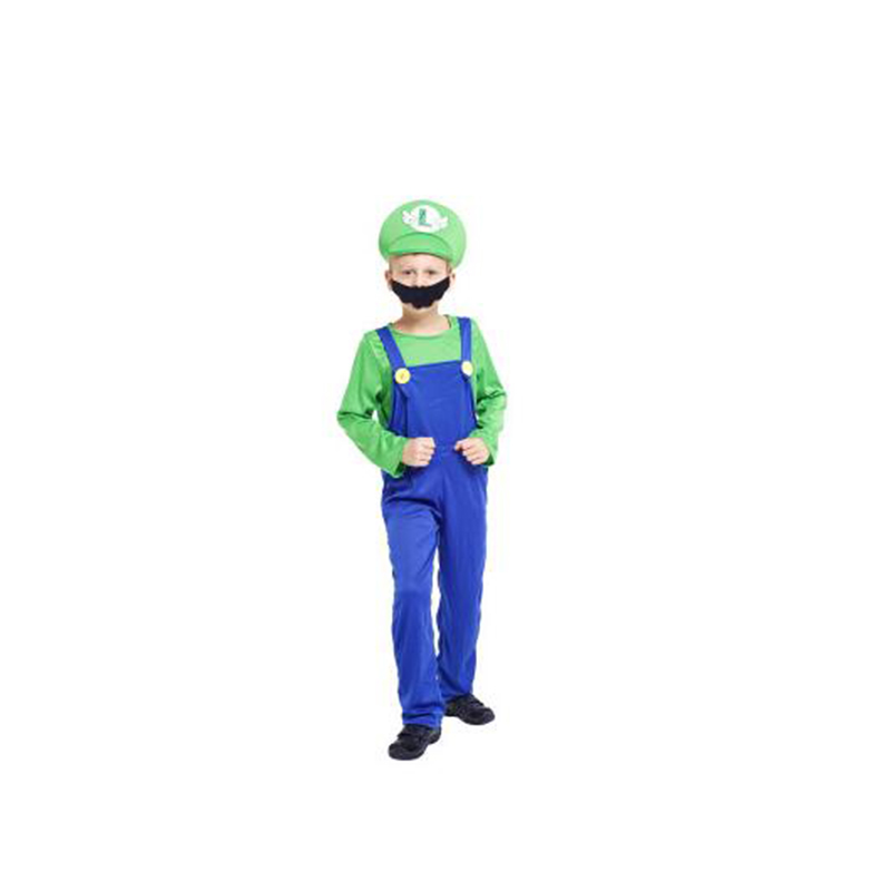 Adults and Kids Super Mario Bros Costume 3