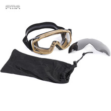 FMA Upgrade Outdoor Goggle Hunting Airsoft Sports Safety Windproof Light Shockproof Glasses Hiking Skiing MTB Cycling Eyewear
