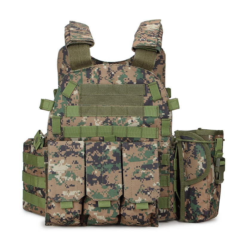 Multicam Camouflage Molle Nylon Modular Vest Tactical Combat Vests Outdoor Hunting 6094 Vests Military Men Clothes Army Vest