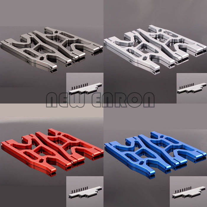 77076 4 2P Aluminum Suspension arms lower 7730 / 7731 For RC Traxxas X Maxx 1/5
