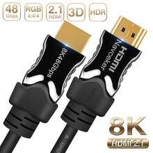 2019 Navceker 8K HDMI 2.1 Cable 48Gbps eARC 4K@120Hz HDMI Cable 2.1 4K HDMI2.1 Cable Dynamic HDR HDMI Cable 2.1 UHD HDMI 2.1 8K(China)