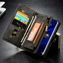 Leather Wallet Flip Case For Huawei P30 Pro Lite P20 Mate 20