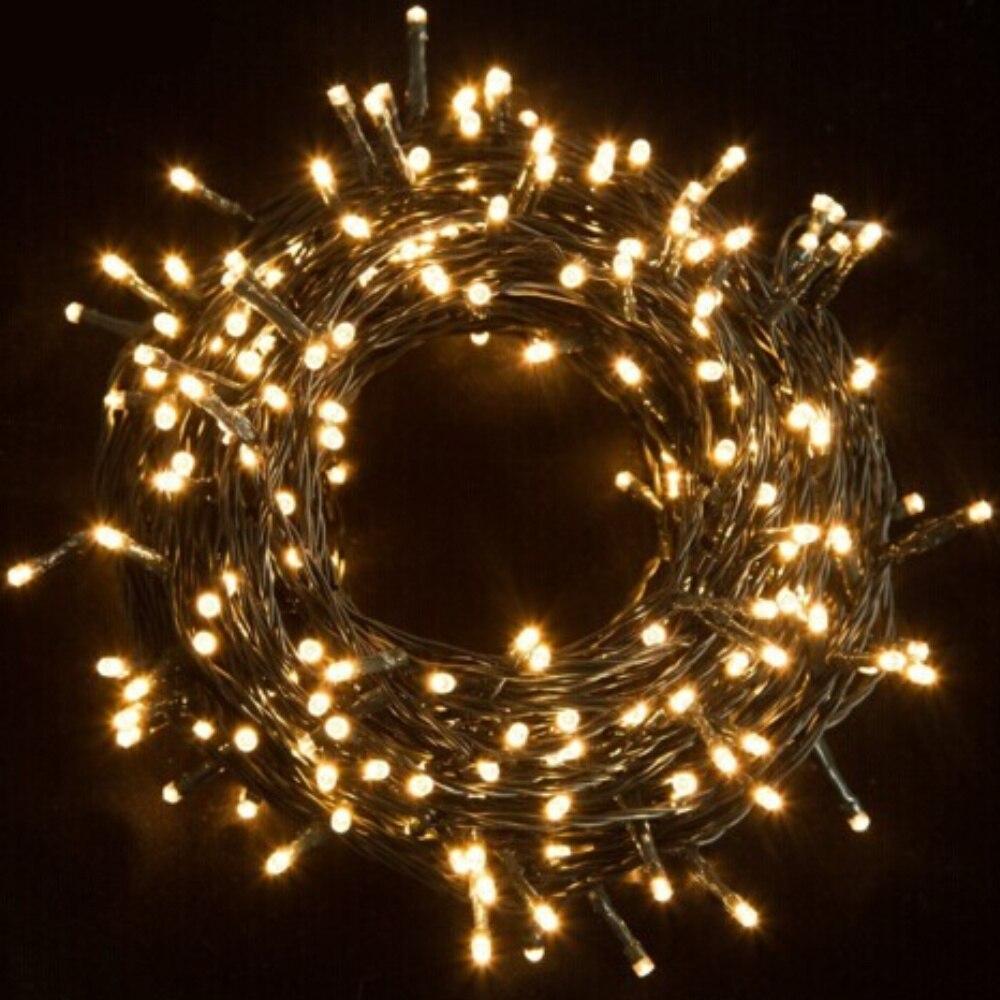 30 m 200LED Luzes Da Corda LED Luzes De Fadas À Prova D' Água Ideal para Árvores de Natal Xmas da Festa de Casamento Decoração Ao Ar Livre Com Alimentação