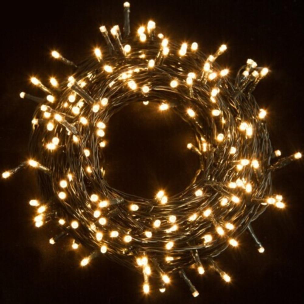 30 m impermeable 200LED luces de cadena LED luces de hadas Ideal para árboles de Navidad fiesta de Navidad de la boda decoración al aire libre con poder