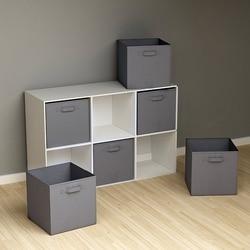 folding Non-Woven Fabric storage box Closet Cubes Bins Organizer kid toy storage bins Offices for Home storage Organization