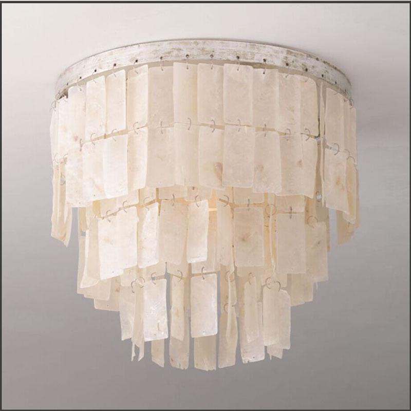 Amerikanischen Einfache Shell Decke Führte Kronleuchter Lüster Für Esszimmer/großen  Französisch Empire Stil Restaurierung