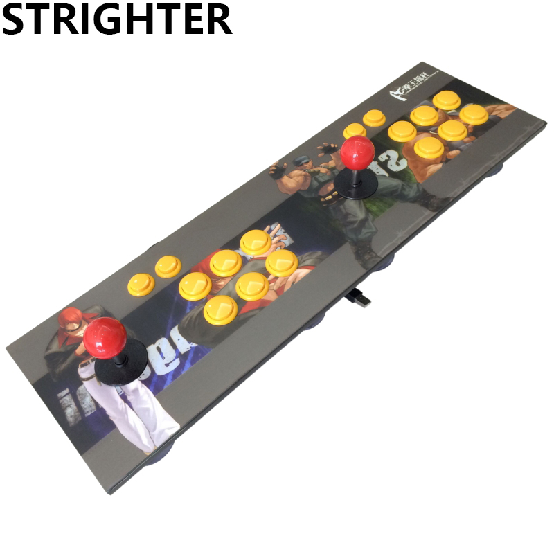 Double joystick King of Fighters Street Fighter the arcade joystick combat the joystick joysticks doubles computer USB