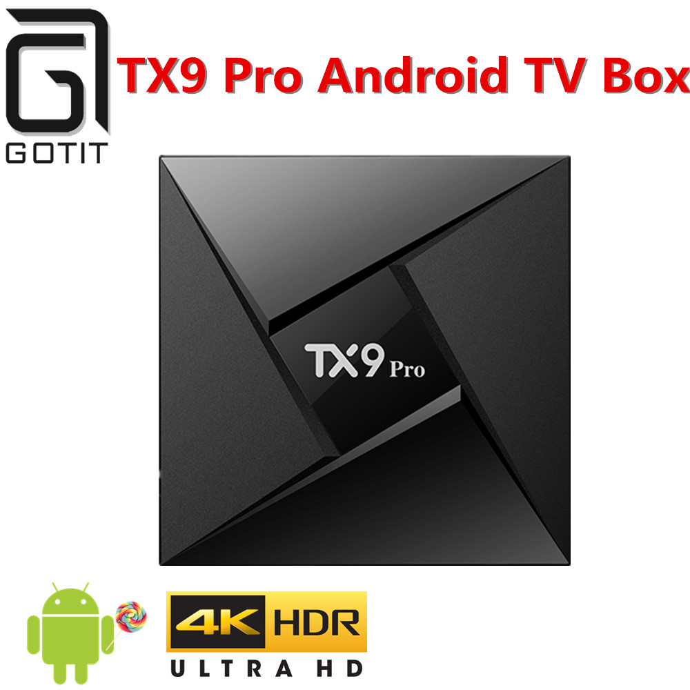TX9 Pro Android 7 1 TV Box 4K UHD 3G 32G Smart TV Box with Bluetooth