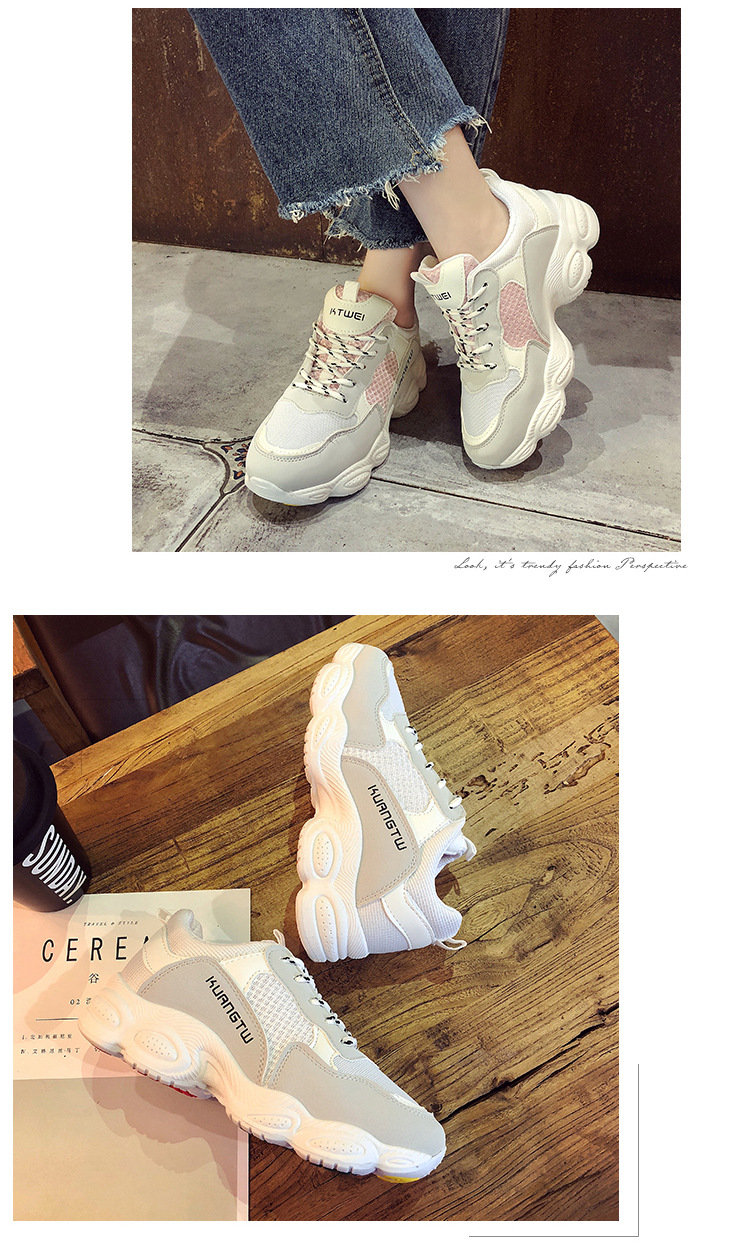 5  New itemizing sizzling gross sales Spring and Autumn web Breathable sneakers girls trainers DKS-186 HTB1IP0ed7fb uJkSmLyq6AxoXXac