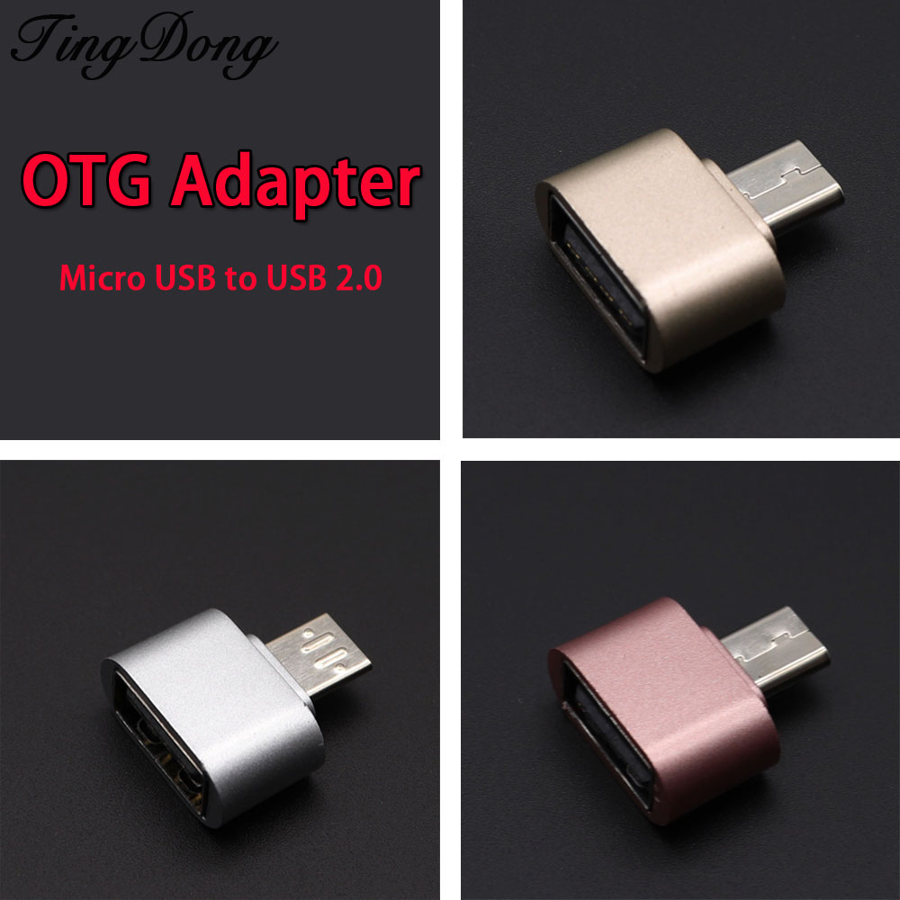OTG Adapter Micro USB To USB 2.0 Converter OTG Cable For Android For Samsung For Galaxy For Xiaomi To Flash Mouse Keyboard Otg
