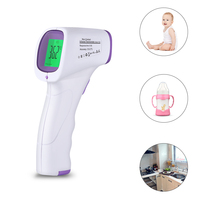 Non Contact Fever Lcd Digital Thermometer Infrared In The Forehead Temperature Milk Baby Electronic Thermometer Kitchen