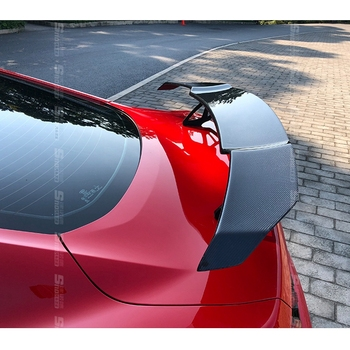 Car shape suitable for Ford Mustang Coupe 2015- 2017 high quality carbon fiber material GT sports car wing auto parts