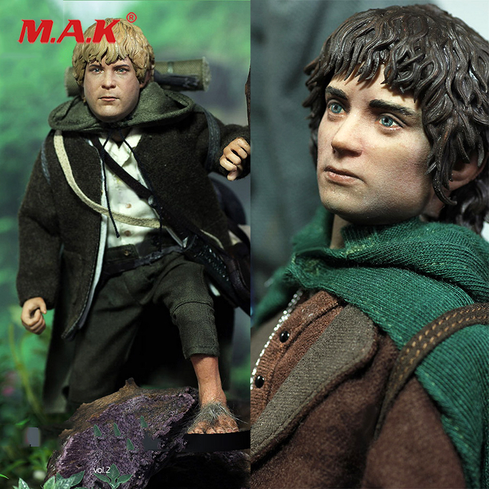 For Collection The 1/6th Scale the hobbit Frodo Sam Collectible Action Figure Doll Full Set Collection yisuya luxury wooden watches for men vintage analog quartz handmade walnut zebra bamboo wood band wristwatch clock gifts reloj