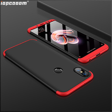 Phone Cases For Xiaomi Redmi Note 5 Case 360 Full Protective 3 in 1 Matte Shockproof Cover redmi Pro