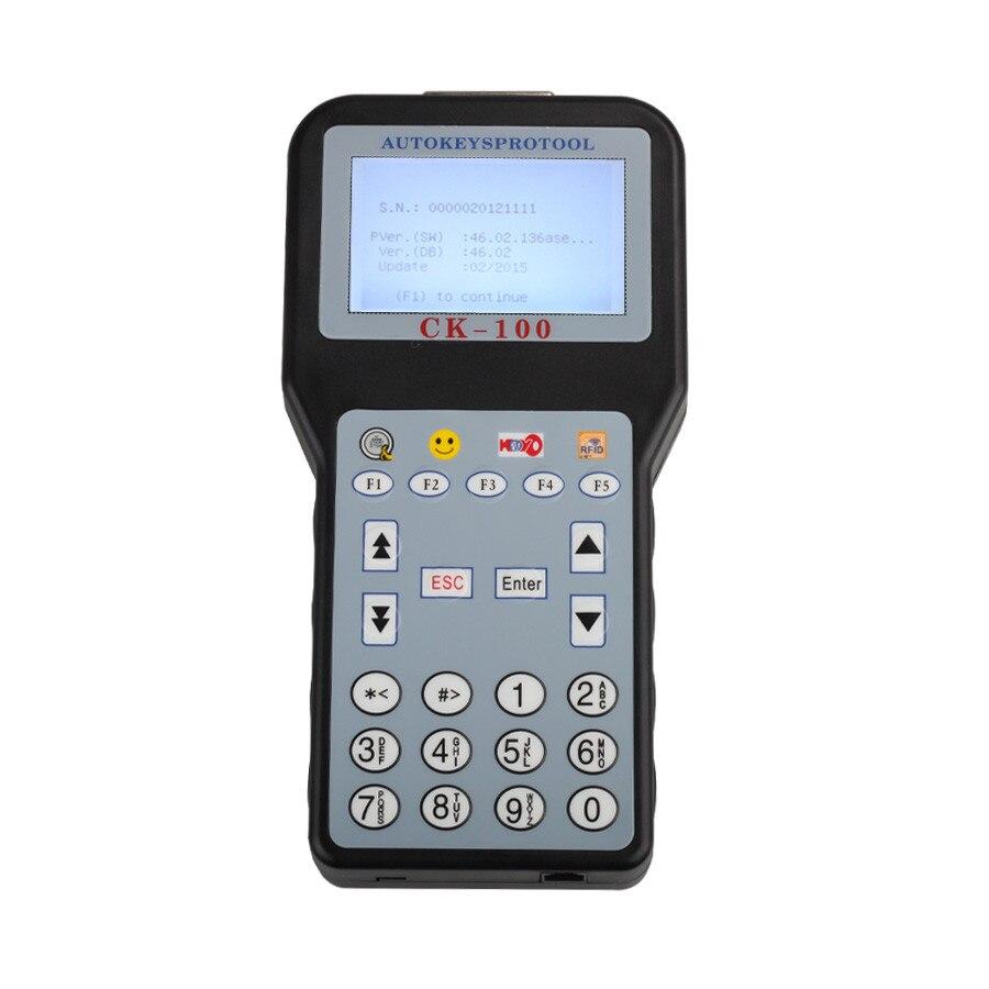 Nouvelle CK100 V46.02 Voiture Programmeur principal Avec 1024 Jetons Mutli Langues Soutien Débloqué Version