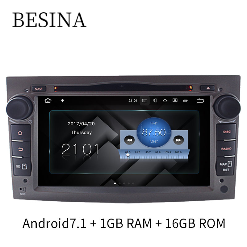 Besina 7 Inch Android 7 1 font b Car b font DVD Player For Opel Vauxhall