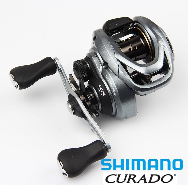 2016 NEW Shimano CURADO 70HG 71HG 70XG 71XG Low profile Baitcasting Fishing Reel 5+1BB 185G  curado 200hgk