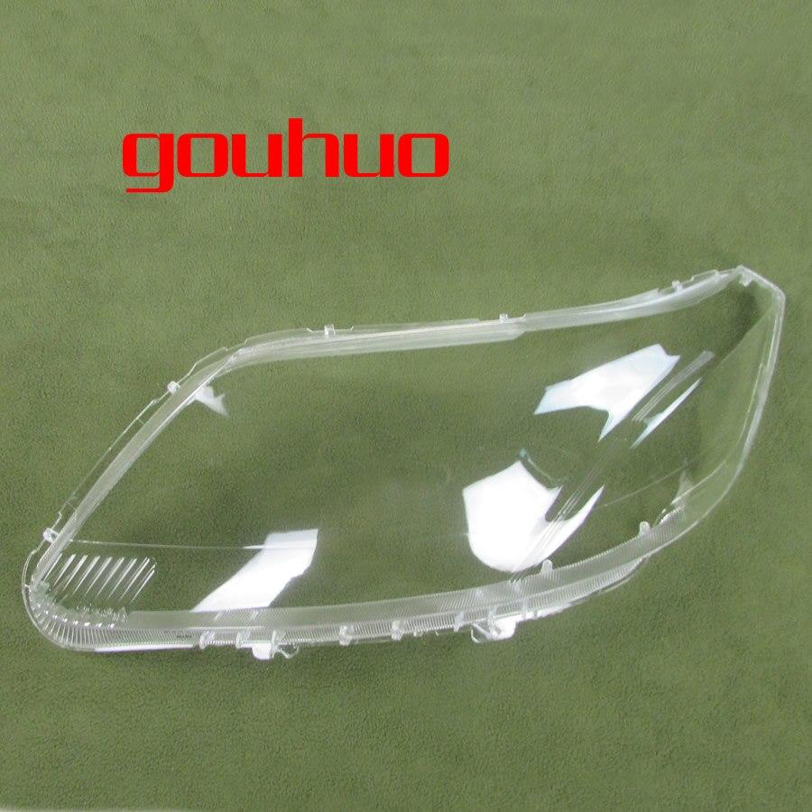 Прозрачный абажур лампы фары крышка Стекло Тень передняя фара оболочка для Chevrolet Sail 2010-2014 2шт