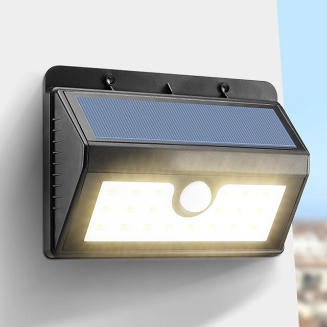 Solar powered 3w 20 led solar light outdoor lighting waterproof ip65 solar powered 3w 20 led solar light outdoor lighting waterproof ip65 pir motion sensor warm white workwithnaturefo