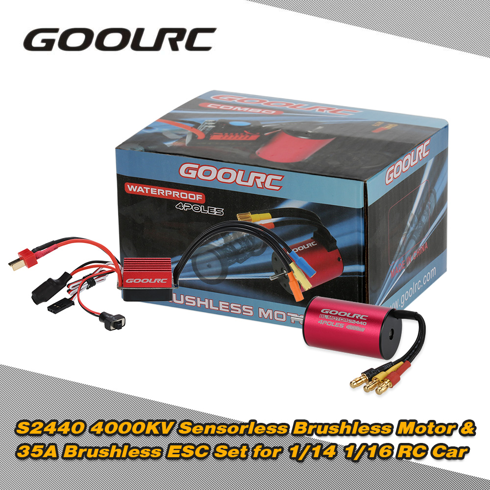 Goolrc hot sale s2440 4000kv sensorless brushless motor for Brushless motors for sale
