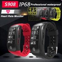 Joinrun S908 GPS Smart Band IP68 Waterproof Sports Wristband Multiple Sports Heart Rate Monitor Fitness Tracker