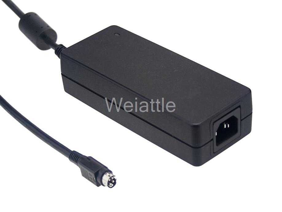 MEAN WELL original GS120A12-R7B 12V 8.5A meanwell GS120A 12V 102W AC-DC Industrial Adaptor genuine mean well gst120a12 r7b 12v 8 5a meanwell gst120a 12v 102w ac dc high reliability industrial adaptor