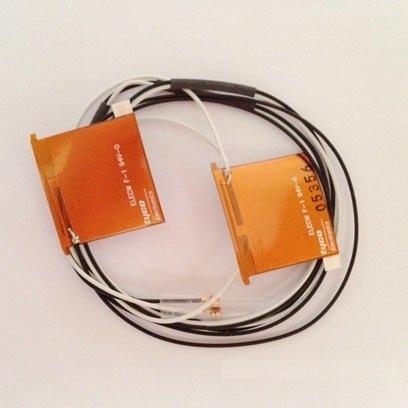 L'AESS Nouveau 2.4/5.0 ghz Mini PCI PCI-E Antenne Interne pour Ordinateur Portable Wifi antenne Bluetooth longueur 81 cm 100 cm