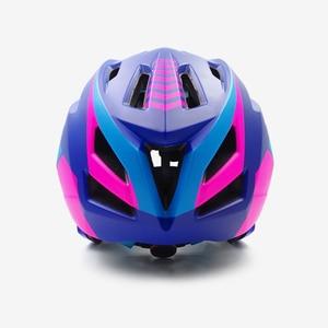 Image 4 - Детский горный велосипедный шлем, Звездный мотоциклетный шлем, на все лицо, для езды на горном велосипеде, детский козырек, красный цвет