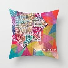 Fuwatacchi Mandala home decoration accessories Cushion Cover Geometric Pillow Sofa Living Room Decor Flower Pillowcases