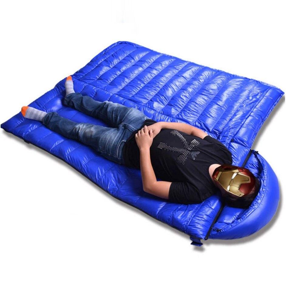 Sleeping Bag winter,400T ripstop nylon,90 duck down ,envelope Sleeping bag dunlop winter maxx wm01 205 65 r15 t