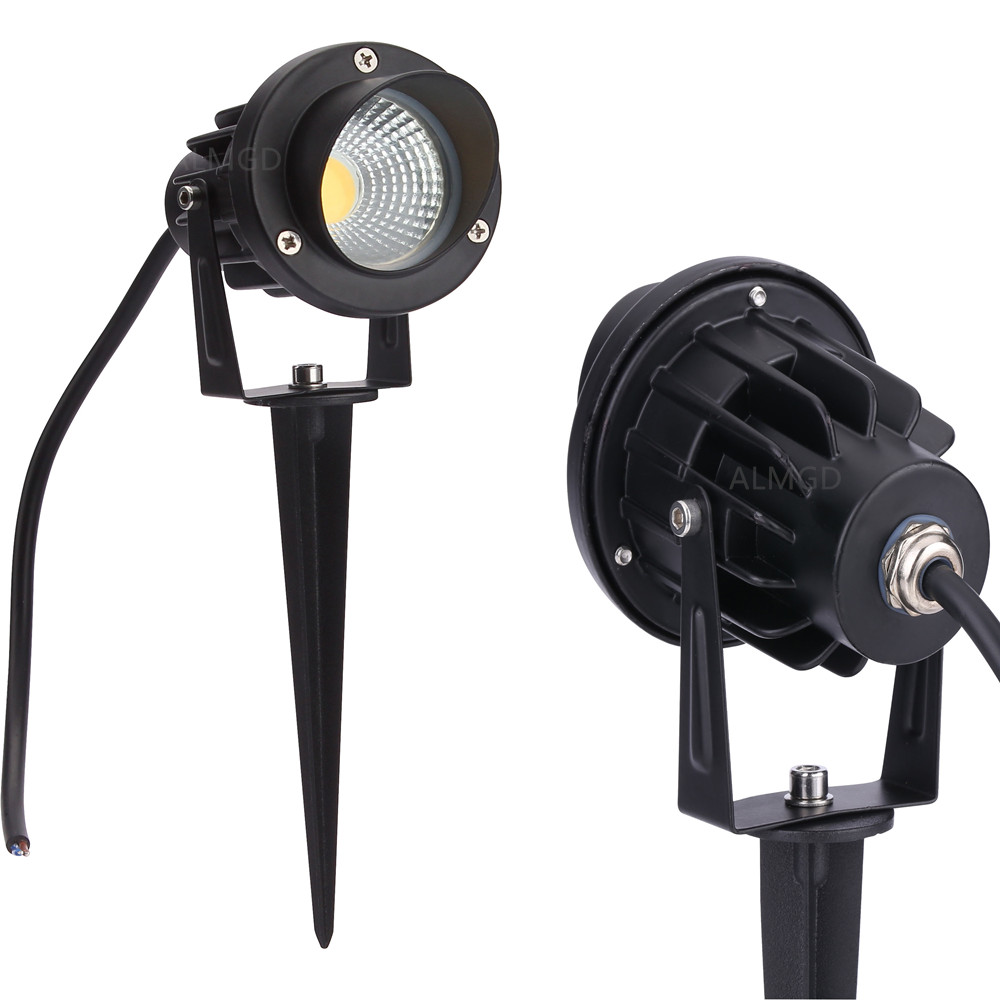 Cost Price Outdoor Lawn Lamp 12V Outdoor Lighting With Cap 10W 7W 5W 3W LED  Spike