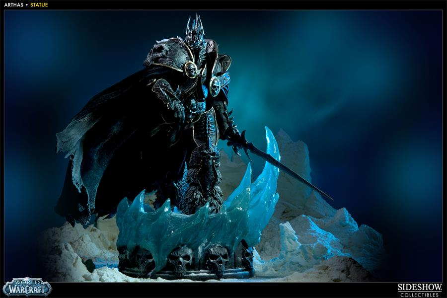 Custom Canvas Wall Decor Arthas Menethil Wallpaper World Of
