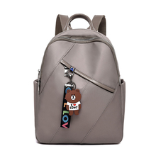 Fashion Woman Backpack Waterproof Oxford Large Capacity Leisure Travel Multi-pocket Portable Shoulder Function Package