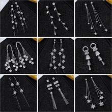 New Micro Paved Cubic Zirconia Earrings Exquisite Stud for Women Fashion Jewelry Anniversary Party Birthday Gift CEL352