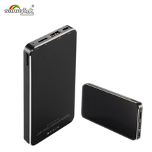 Ultra Slim Power Bank динамик, Встроенный 5200 мАч полимерный аккумулятор и 3 Вт динамик Заряжать и play 2 в 1 для ваших смартфонов
