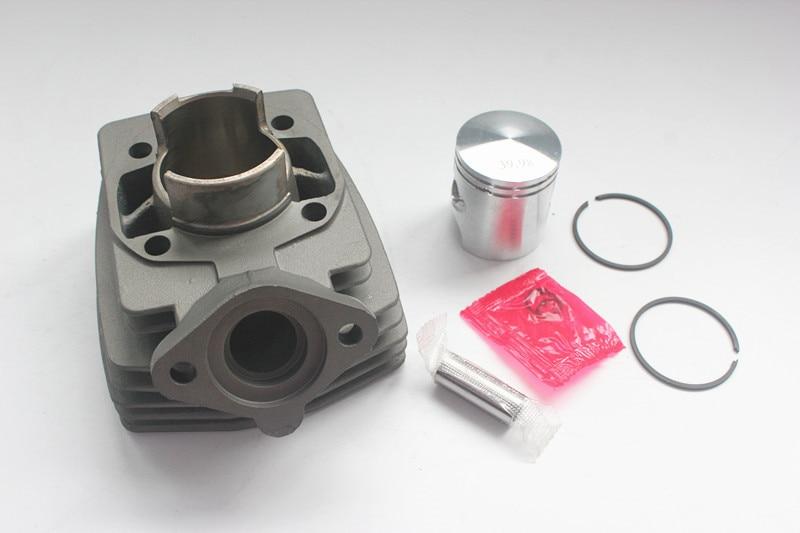Kit de cylindre de moto Airsal pour Peugeot 40mm cylindre avec 12mm Pin Pgt40 culasse pour Peugeot FOX cylindre Original