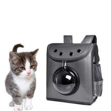 GQIYIBBEI Fashion Cat Bag Pet Portable Double Shoulder Space Capsule Breathable Reflective Bar Backpack Travel Organizer