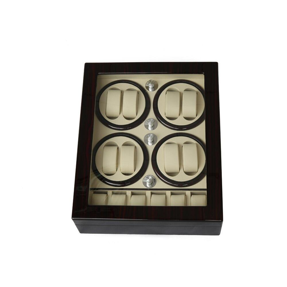 Watch Winder ,LTCJ Wooden Automatic Rotation 8+5 Watch Winder Storage Case Display Box (BW) Watch Winder ,LTCJ Wooden Automatic Rotation 8+5 Watch Winder Storage Case Display Box (BW)