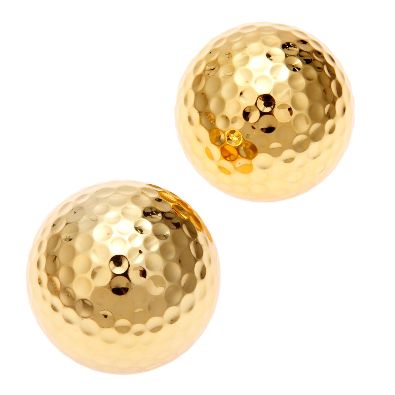 6 pçs lote duas camadas de ouro