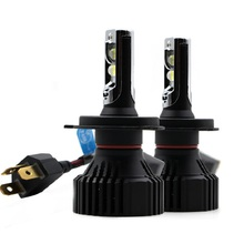 цена на 1pair H4 16000Lm 60W H7 led H11 9005 9006 LED Car Headlight Bulbs Cree XHP50 Chips H27 881 H1 H3 H7 H11 H16 5202 H13 9006 Led