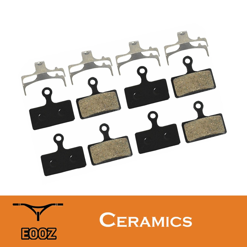 4 Pairs Bicycle Ceramics DISC BRAKE PADS FOR SHIMANO <font><b>G01S</b></font> XTR M9000 M9020 M985 M988 Deore XT M8000 M785 SLX M7000 M666 M675 image