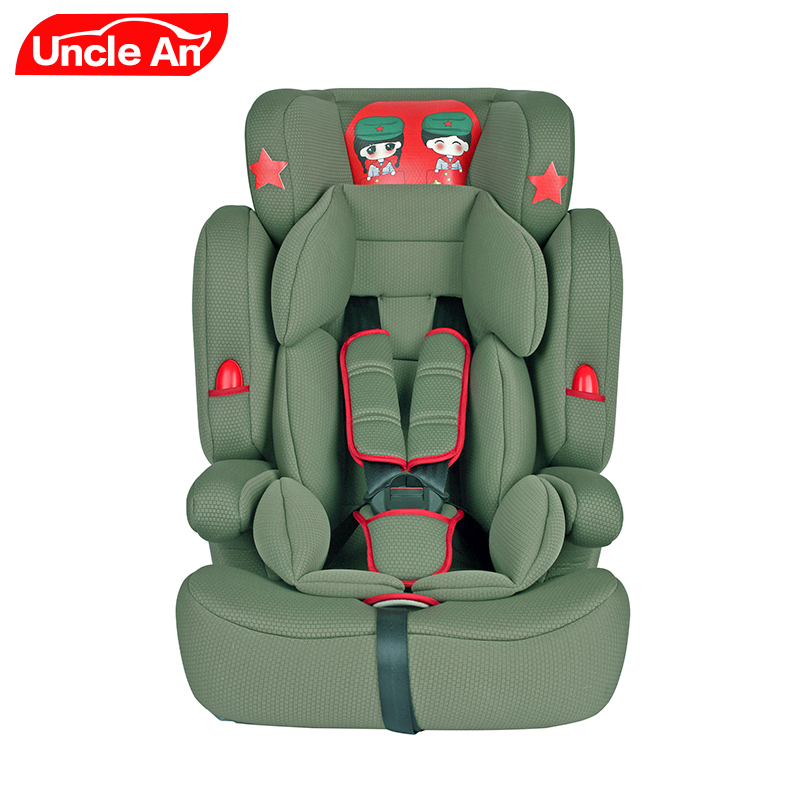 Children Safety Car Seat with ISOFIX for 9 months ~ 12 Years Old, Easy Folding, Comfortable Baby Car Seat, Children Chair beiand t10 composite cotton children car safety seat red