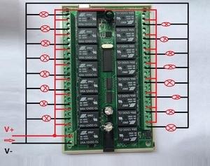 Image 5 - 1000 متر طويلة المدى DC12V 16CH راديو تحكم جهاز ريموت كنترول لا سلكي يعمل بالتردد الراديوي نظام التبديل 1 قطعة جهاز إرسال + 1 قطعة استقبال
