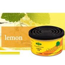 脱臭固体 70 グラムオフィス香り空気清浄屋内ホーム車の自動車のインテリアフルーツ花 lemon 装飾フレグランスディフューザー