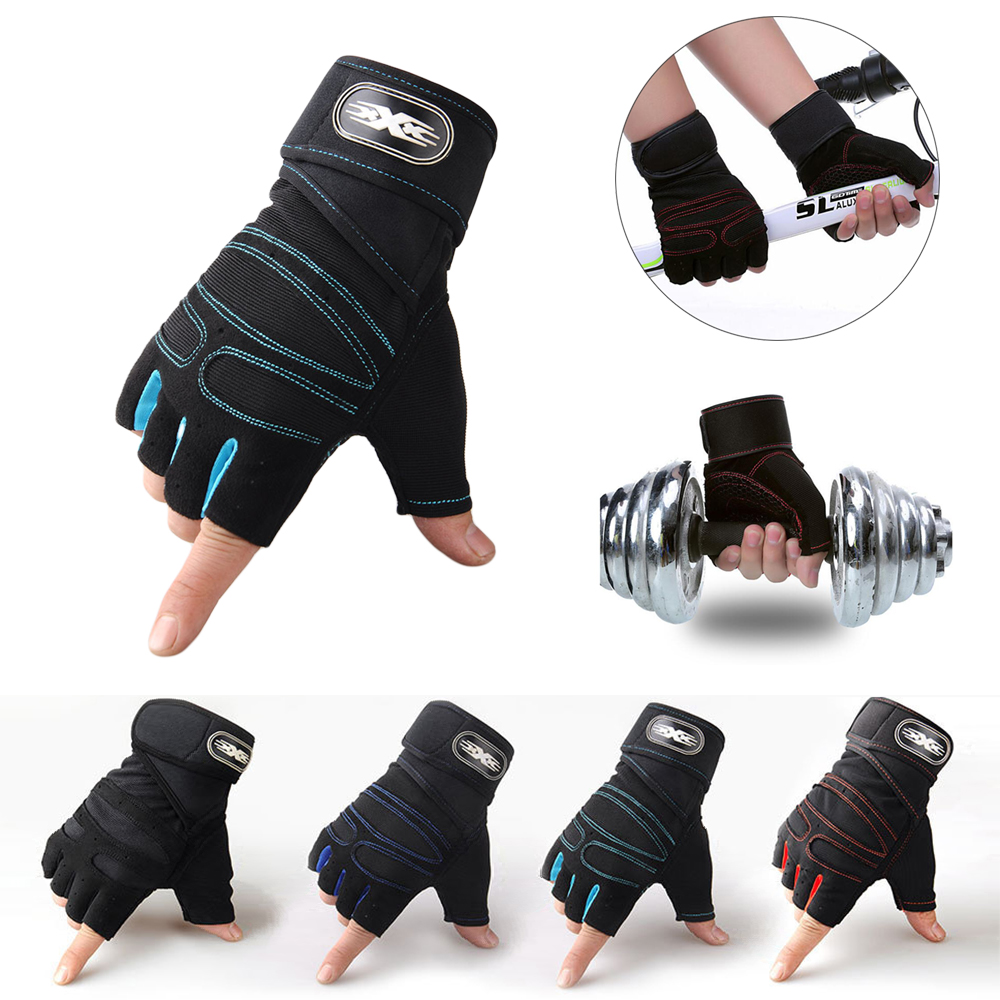 Gym Handschuhe Schwergewicht Sport Übung Gewichtheben Handschuhe Körper Building Training Sport Fitness Handschuhe für Tiert Radfahren