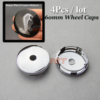 Car Wheel Hub Caps Auto 60mm 2 36inch Wheel Center Cap For Snake Logo Fit All
