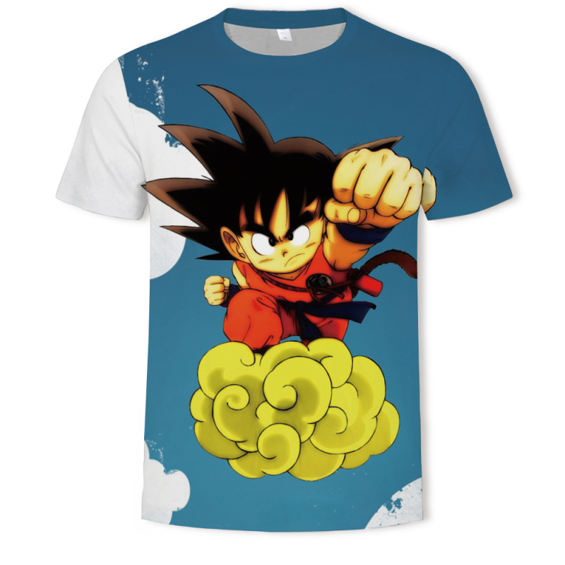 2019 Summer dragon ball man t shirt 3D prited Anime tshirt Funny t shirt man Hip Hop Japanese Mens Clothes Harajuku streetwear in T Shirts from Men 39 s Clothing